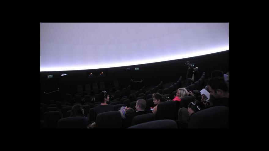 Video V Plzni se dnes otevírá první 3D planetárium v Čechách