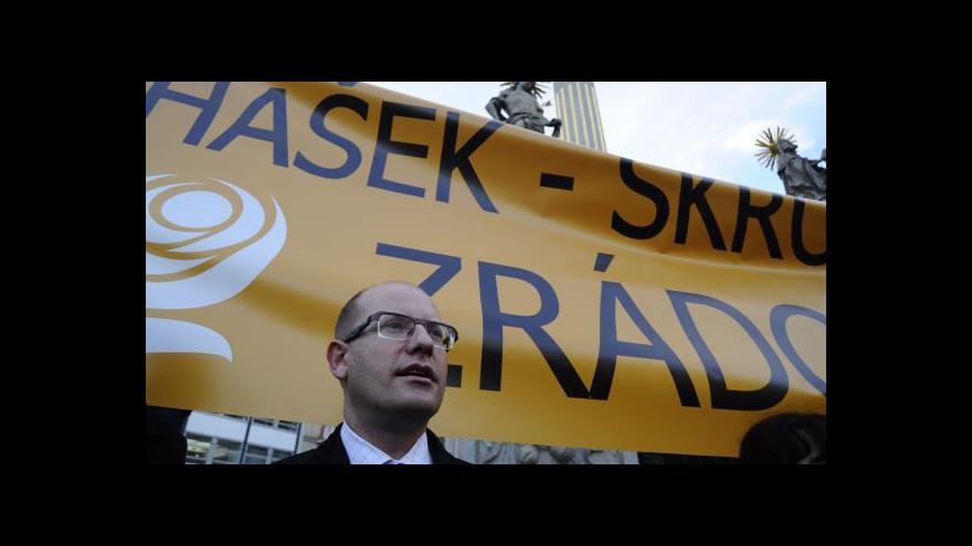 Video Téma stranického jednání v UvR