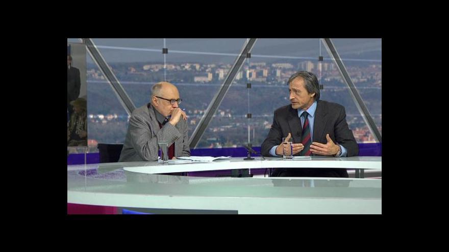 Video Václav Bělohradský a Martin Stropnický v OVM (1. část)
