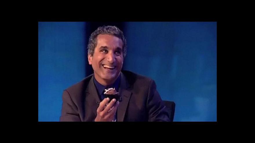 Video Konec egyptského satirika
