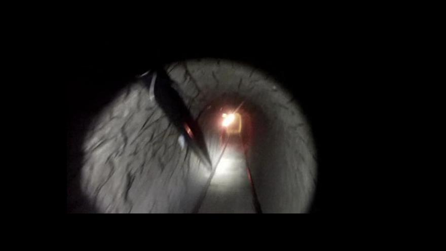 Video Americká policie našla pašerácký tunel