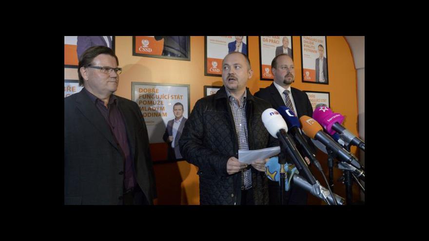 Video Události k situaci v ČSSD