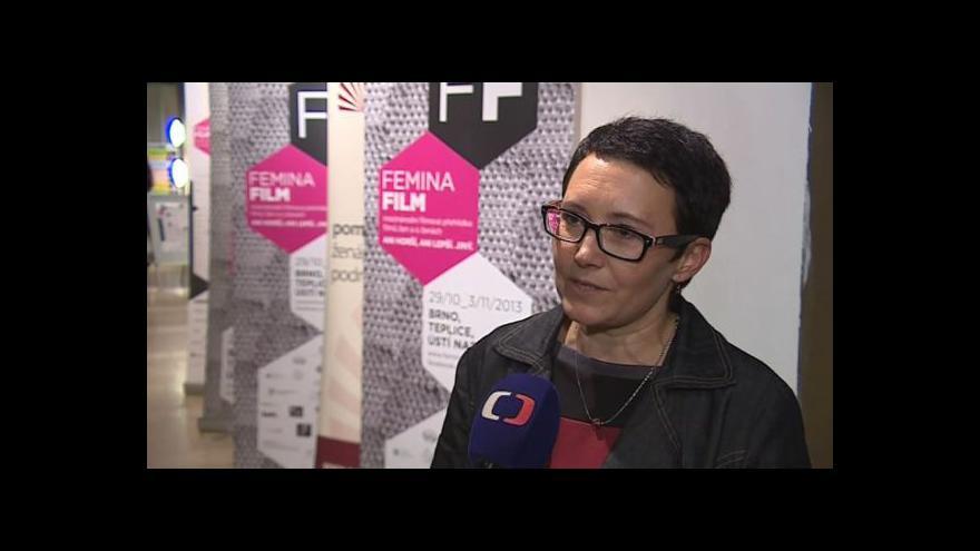 Video Hovoří ředitelka festivalu Femina Film Jana Víchová