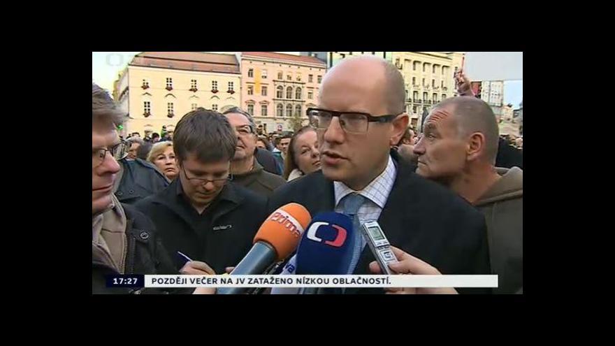 Video Bohuslav Sobotka z Brna