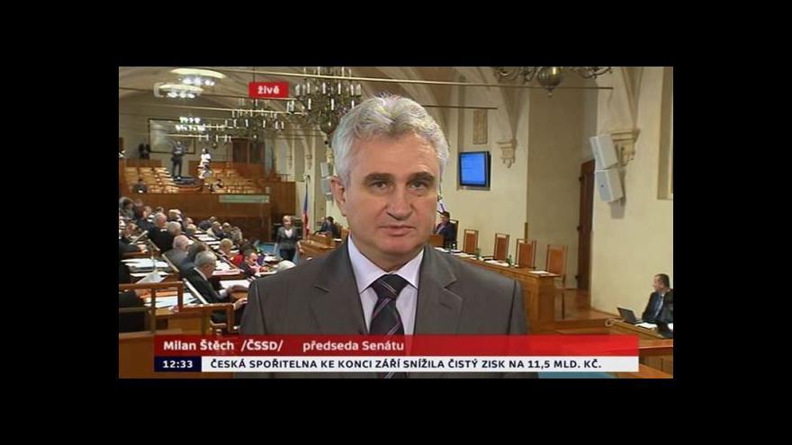 Video Rozhovor s Milanem Štěchem