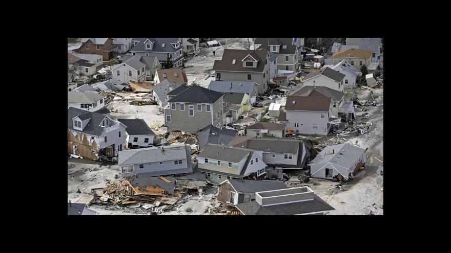 Video Před rokem udeřil na východ USA hurikán Sandy