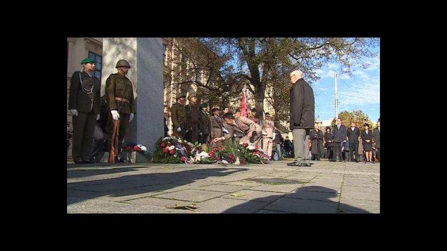 Video NO COMMENT: Oslavy 28. října v Brně