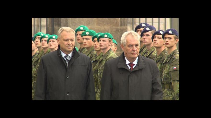 Video Sváteční den s Milošem Zemanem