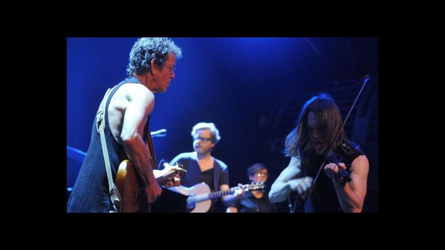 Video Události v kultuře o Lou Reedovi