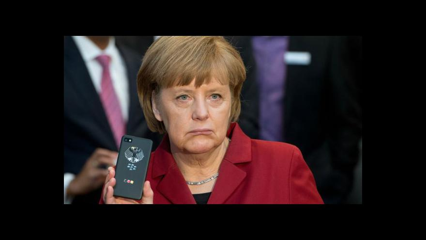 Video Události o novinkách v aféře se špehováním Merkelové