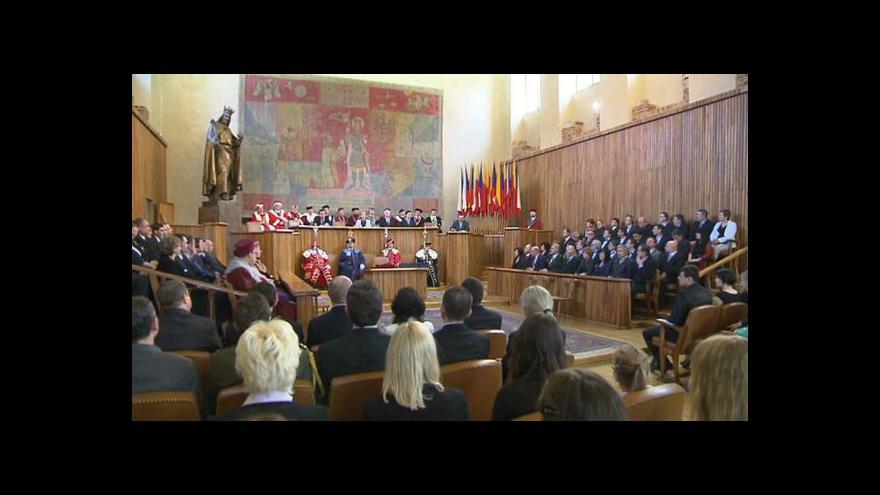 Video Většina rektorů odmítla účast na oslavách 28. řijna