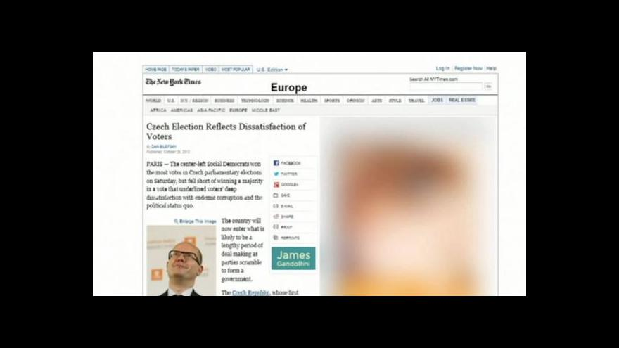 Video Co píše zahraniční tisk