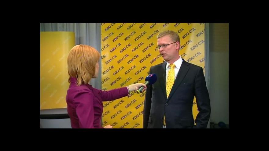 Video Pavel Bělobrádek k průběžným výsledkům