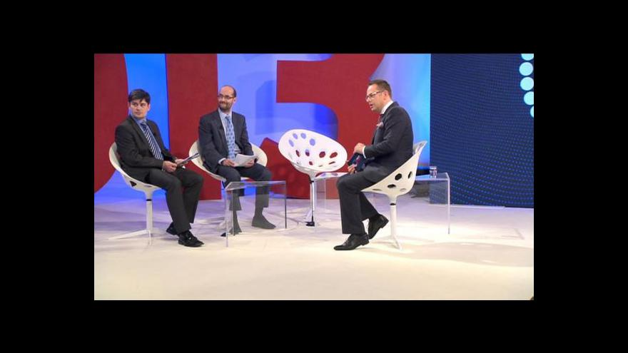 Video Politologové k průběžným volebním výsledkům - 1. blok