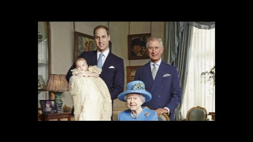 Video Snímky ze křtu prince George