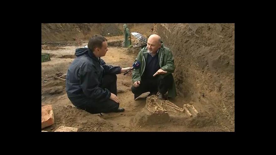 Video O nálezu hovoří archeolog Luděk Galuška