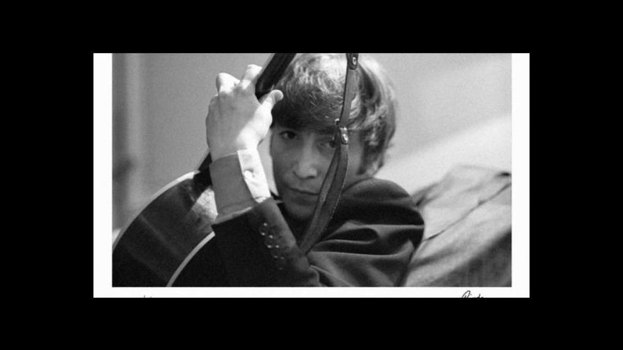 Video Ringo Starr fotografem