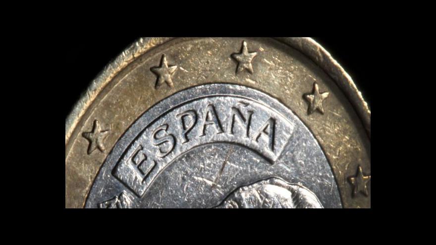 Video Studio ČT24 o španělské ekonomice