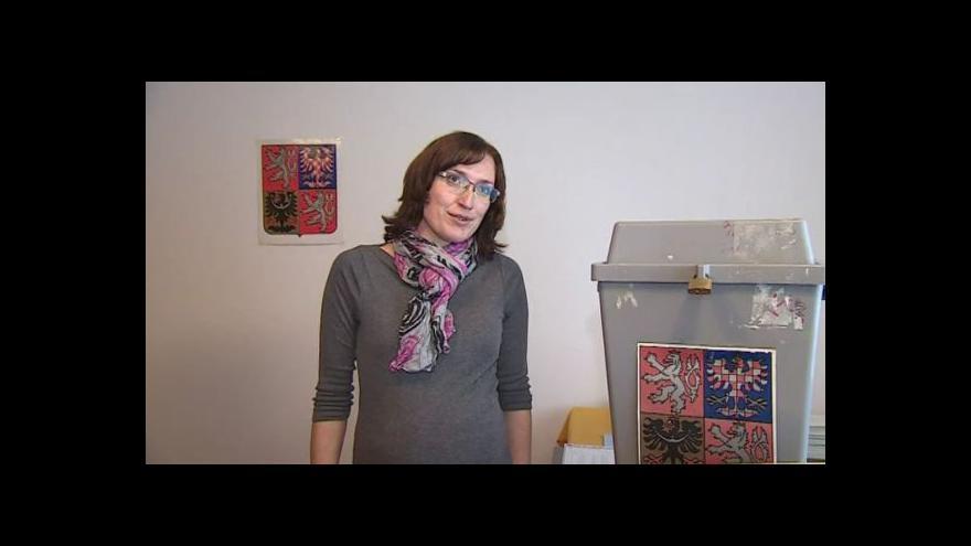 Video O náležitostech voleb hovoří starostka Bělče Jana Přikrylová (nez.)
