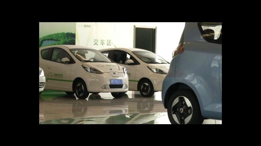 Video V Číně zatím elektromobily moc neletí