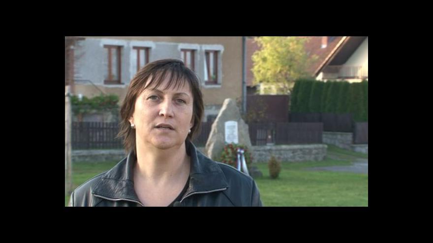 Video Hovoří starostka Heřmanova Pavla Chadimová (nez.)