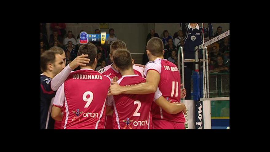 Video Sestřih a ohlasy utkání Ostrava - Pireus