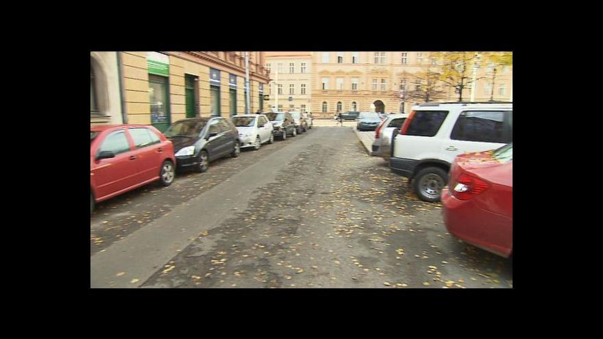 Video Luděk Jíra o parkovacích zónách na Smíchově