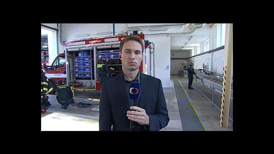 Video Filip Zdražil o nové hasičské stanici