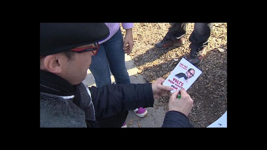 Video Kampaň před předčasnými volbami vrcholí