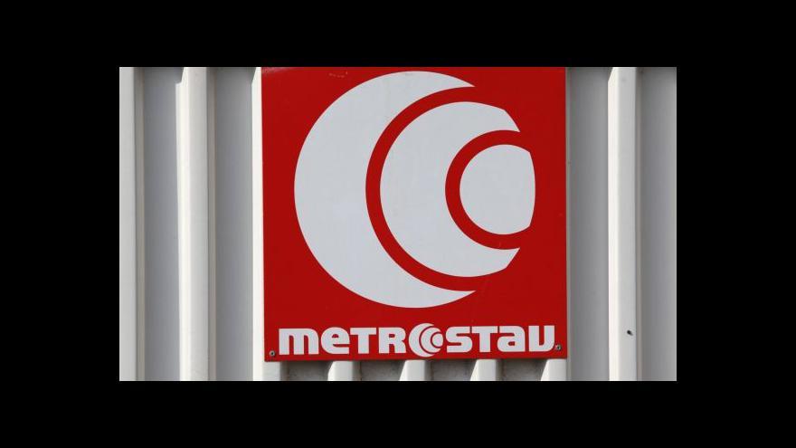 Video Události - Metrostav se brání