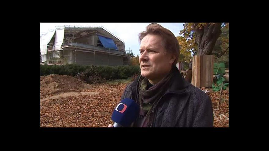 Video Petr Kroupa (NPÚ) o opravách vily Stiassny
