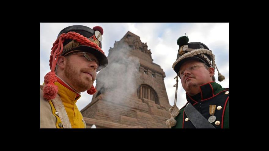 Video 200 let od porážky Napoleona u Lipska