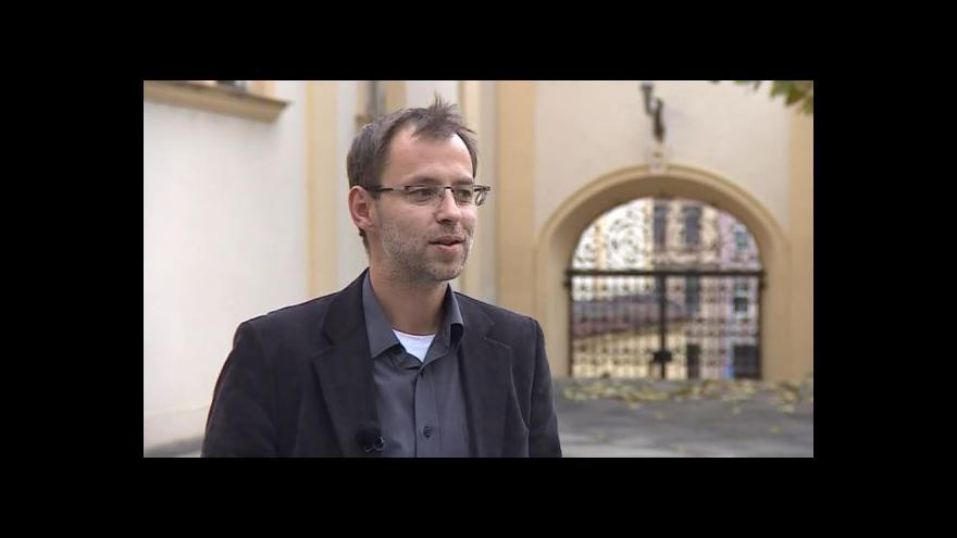 Video Hovoří mluvčí radnice Brno-střed Roman Burián