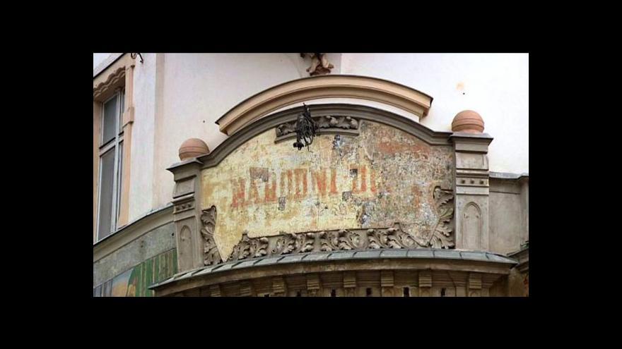 Video Reportáž Antonína Bruštíka o rekonstrukci Národního domu
