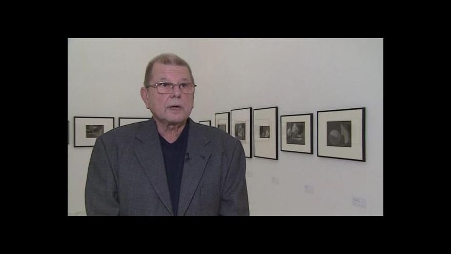 Video Hovoří autor výstavy Antonín Dufek