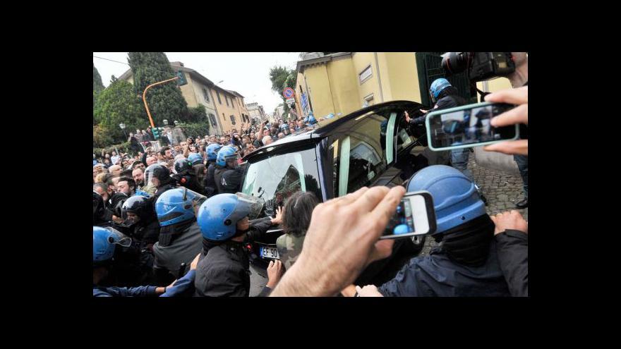 Video Pochodu v Římě se zúčastnily tisíce lidí