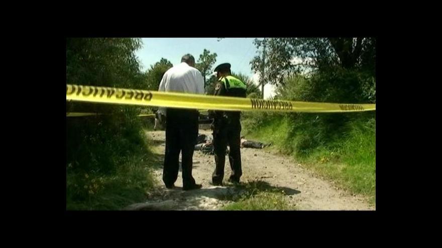 Video V Acapulku roste kriminalita
