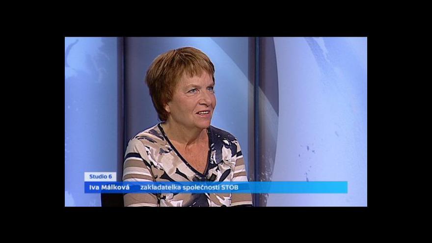 Video Rozhovor s Ivou Málkovou