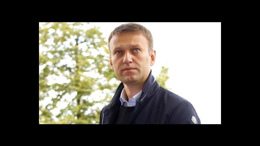 Video Navalnyj dostal místo vězení podmínku