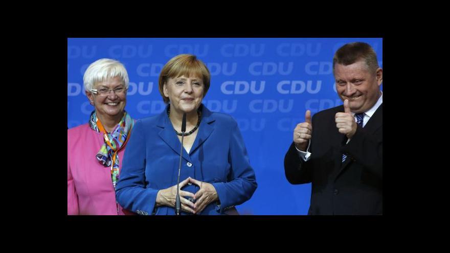Video CDU/CSU se nedohodla na koalici se Zelenými