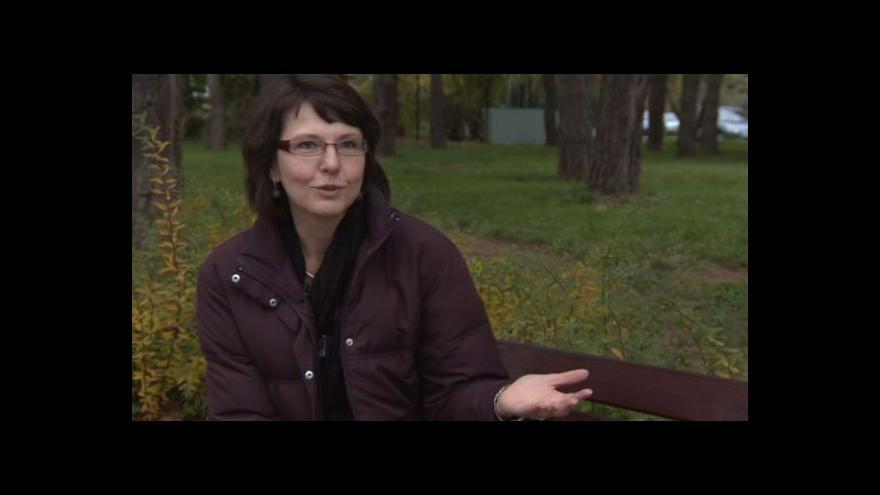 Video Klára Sovová o výstavě Smrt je jen začátek