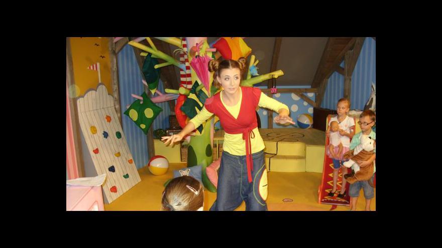Video Kristýna z Hýbánek má pohybu dostatek