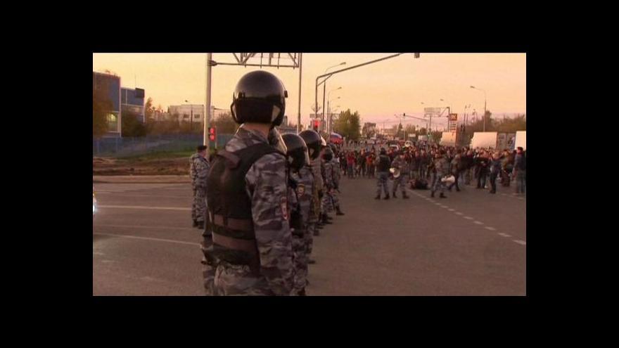 Video Ruskou metropoli zasáhly etnické nepokoje