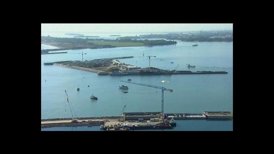 Video V italských Benátkách poprvé otestovali protipovodňovou ochranu