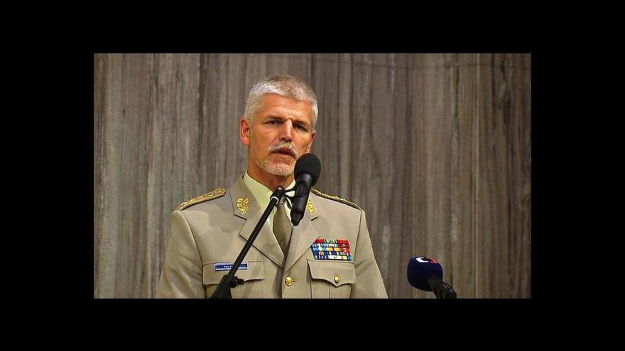Video Projev náčelníka Generálního štábu Armády ČR Petra Pavla