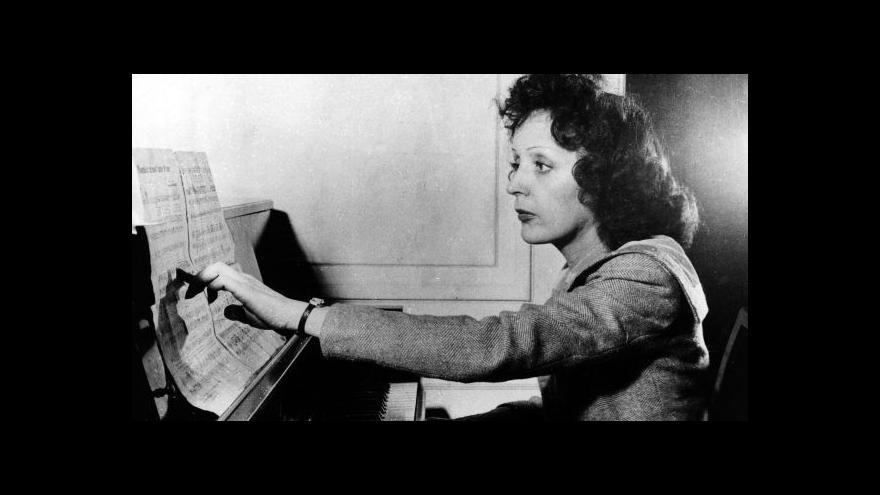 Video Luděk Kanda o Edith Piaf