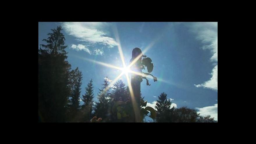 Video Události o počasí v Česku