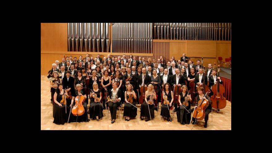 Video Janáčkova filharmonie koncertuje s Kirillem Gersteinem