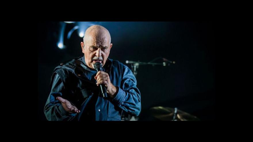 Video Peter Gabriel vystoupí v Praze