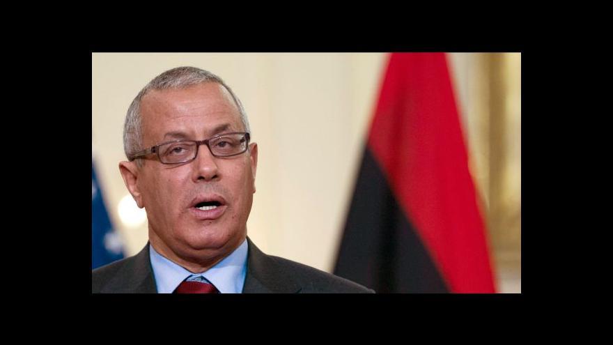 Video Libyjský premiér Zajdán je opět na svobodě